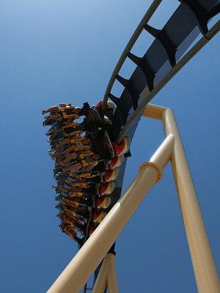 metal-roller-coaster